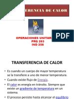 INTRODUCCIÓN A LA TRANSFERENCIA DE CALOR