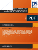 PRODUCCION DE LACTATO DE ETILO