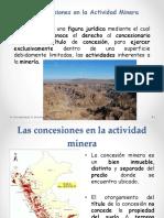 Concesiones en la actividad minera