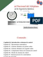 Capítulo 01. Introducción a Control Automático de Procesos