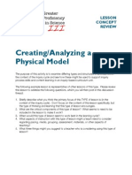 Physical Model Lesson Sample