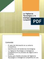 Sesion_9_La Vigilancia Tecnológica e Inteligencia Competitiva
