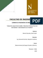 PROCESO PRODUCTIVO DE ANTAMINA-MOV.TIERRAS