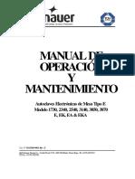 Operacion E Predg Español