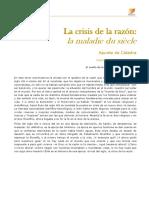 Unidad 3.  La crisis de la razón (campus)