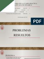 SOLUCIONARIO DE LA CUARTA PRACTICA DE DINAMICA