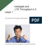 LTE Throughput4
