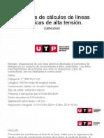 S08.S1 LINEAS ELECTRICAS DE ALTA TENSION EJERCICIOS REV 2 010620