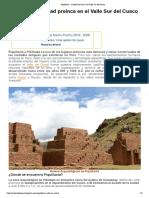 Piquillacta - Ciudad Pre-Inca en el Valle Sur del Cusco