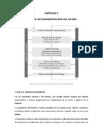 CAPÍTULO V; procceso de administracion de riesgos
