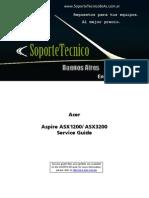 120 Service Manual -Aspire Asx1200 Asx3200