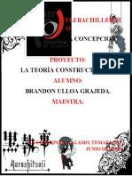 LA TEORÍA CONSTRUCTIVISTA