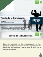 Teoría de la Burocracia - Max Weber