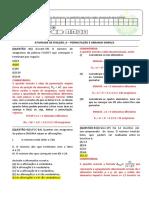 RESOLUÇÃO DA ATIVIDADE DE FIXAÇÃO -MAT I_9