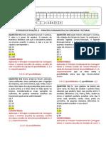 RESOLUÇÃO DA ATIVIDADE DE FIXAÇÃO -MAT I_6