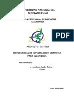 METODOLOGIA DE INVESTIGACION CIENTIfICA PARA INGENIEROS