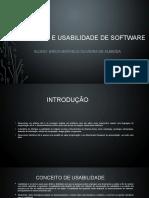 INTERFACE E USABILIDADE DE SOFTWARE - EMODA