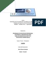 Proyecto de Capacitación Docente - FATLA - PACIE   FASE INVESTIGACION