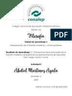 Filosofia CONALEP 3.1 Actividad 2