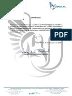 Declaração visita técnica - THAAC 1 - 2º período