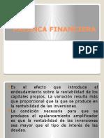 PALANCA FINANCIERA