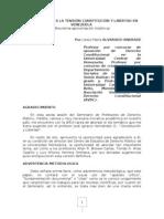 APROXIMACIÒN A LA TENSIÒN CONSTITUCIÓN Y LIBERTAD EN VENEZUELA (VERSIÓN DEFINITIVA)