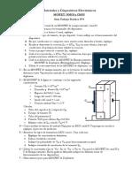 Cuestionario Guia Nº8 MOSFET, NMOS y CMOS