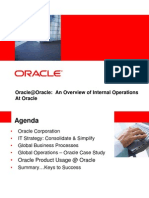 An Overview of Internal Operations at Oracle