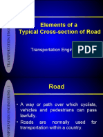 4-Elements of Road X-section 4