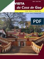 Revista Da Casa de Goa - II Série - N3 - Mar-Abr 2020
