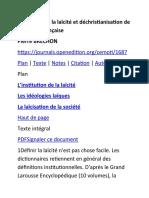 Institution de la laïcité et déchristianisation de la société française.docx