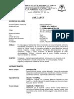 SILABUS DE CAMPOS MAGNETICOS