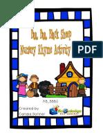 Baa Baa Black Sheep Nursery Rhyme Activity Book