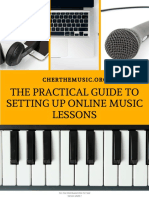 The Practical Guide to Setting Up an Online Music Lesson