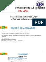 Partage de connaissances  ISO 9001 2015 nov 2018