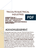 TRICOLITE ELECTRICAL INDUSTRIES