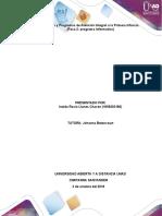 Paso 2 - Programa informativo