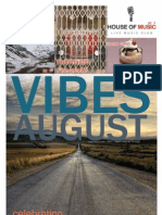 Vibes August Issue (1 year Anniversary)