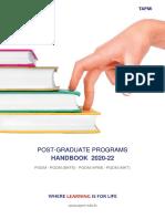 TAPMI PGP Handbook