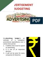 Presentation_on_advertisement_budget