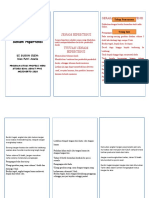 leaflet terapi modalitas senam hipertensi
