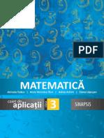 Matematica - caiet auxiliar - clasa a 3-a