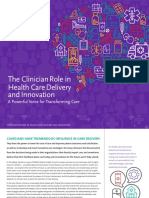 The Clinician Role in Health Care Delivery and Innovation