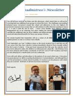Newsletter No 113 - 19th June 2020