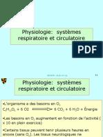 cours 2_1 Le système respiratoire et circulatoire