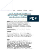 _LED_TV_Randomly_CanÔÇÖt_Power_On