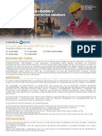 Afiche Curso Formulación y Evaluación de Proyectos Mineros