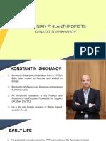 Konstantin Ishkhanov - The Founder of  EUFSC