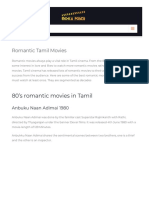 Romantic Tamil movies that melts you  with love