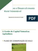 A gestão do capital natural na agricultura